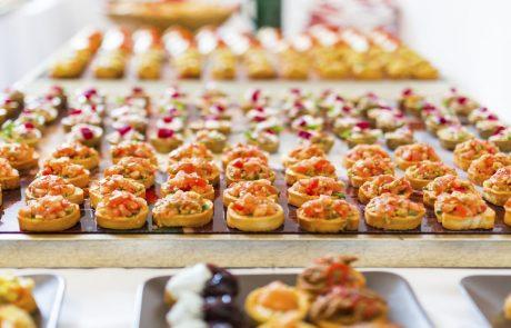 Canapes buffet ibiza