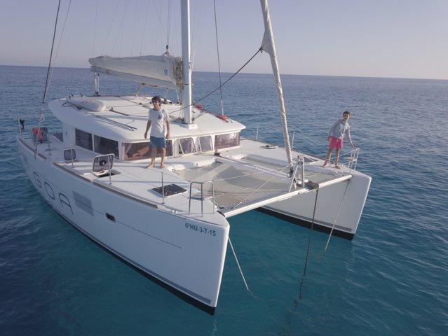 Lagoon 400 Catamaran Ibiza 4