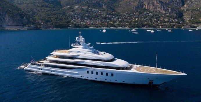 Mega Yacht For Charter