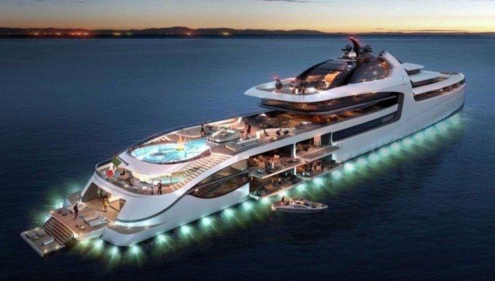 Megayacht For Rent