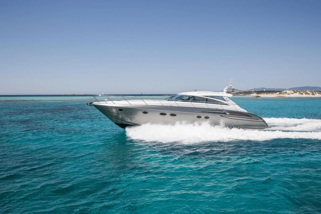 Princess V58 Speedboat 1