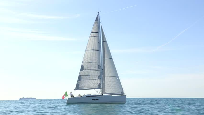 Sailing Boat Ibiza
