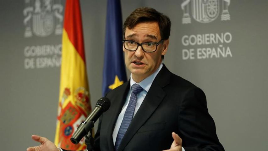 Salvador Illa Ministro De Economia Del Gobierno De España