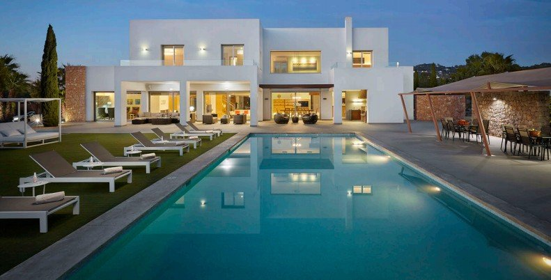 villa con discoteca privada ibiza